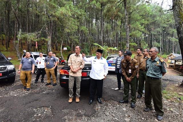 Pemprov Jabar Siap Kembangkan  Obyek Wisata Alam Pasir Langlang -Purwakarta
