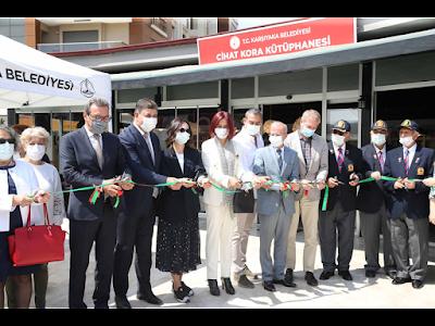 Cihan Kore Kütüphane Açılışı