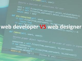 من هو الأفضل مصمم المواقع او مطور المواقع ؟