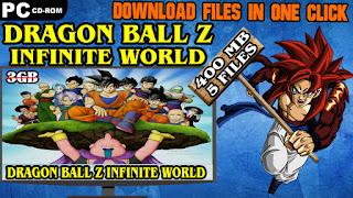 DRAGON BALL Z INFINITE WORLD PC DOWNLOAD