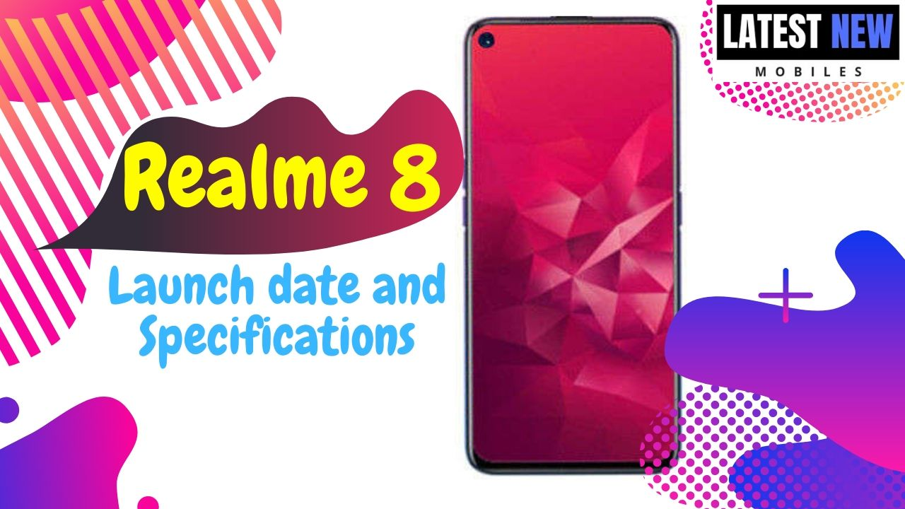 Realme 8 launch date in India and price