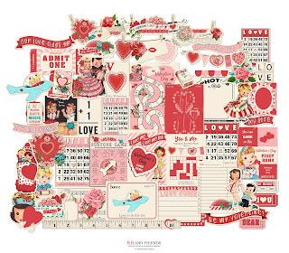 KB and Friends' Valentine's Day Fun & Games Ephemera