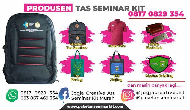 Produsen Konveksi Tas Seminar Kit Murah Makassar, Sulsel