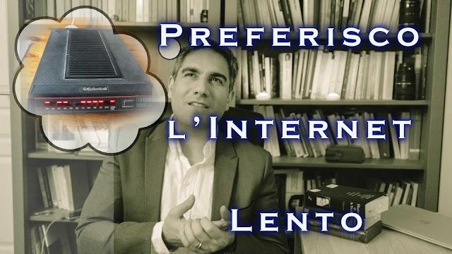 Preferisco l'internet lento (non è un manifesto contro la 5G)
