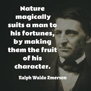 Ralph Waldo Emerson inspiring Quote