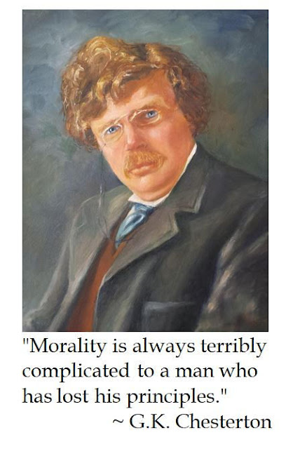 G.K. Chesterton on Morality