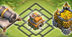 Pengertian Base Farming, Trophy dan Hybrid dalam Clash of Clans