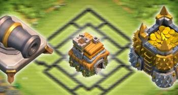 Pengertian Base Farming, Trophy dan Hybrid dalam Clash of Clans
