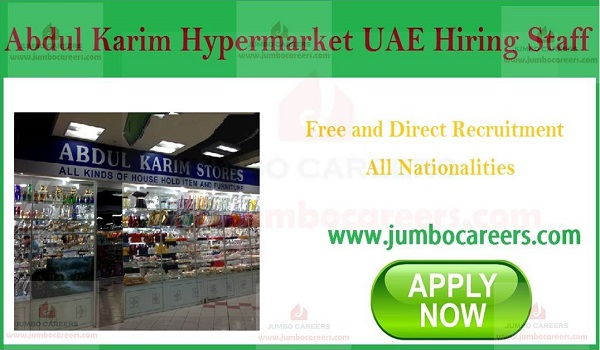 Current job vacancies in UAE, Available jobs in UAE with salary,