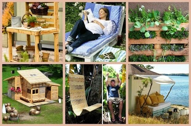 Amicomario interessanti idee di riciclo creativo il for Arredare il giardino fai da te
