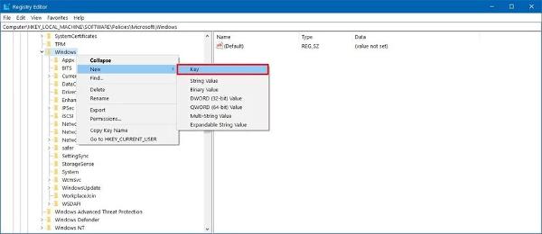 windowsupdate_key_regedit