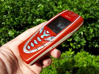Nokia 7210 Jadul Segel Eks Garansi Nokia Indonesia