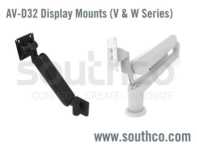 Southco Height Adjustable Display Mount Series