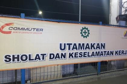"""Pendukung Jokowi Protes Spanduk PT KAI Bertuliskan """"Utamakan Sholat dan Keselamatan Kerja"""""""