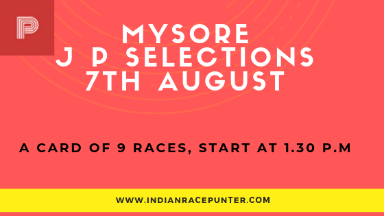 Mysore Jackpot Selections 7 August