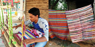 Inspiration-This man upcycle old clothes into blankets, doormats and more