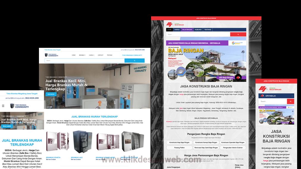 jasa pembuatan website marketing powerful berbasis blogspot untuk strategi pemasaran online perusahaan