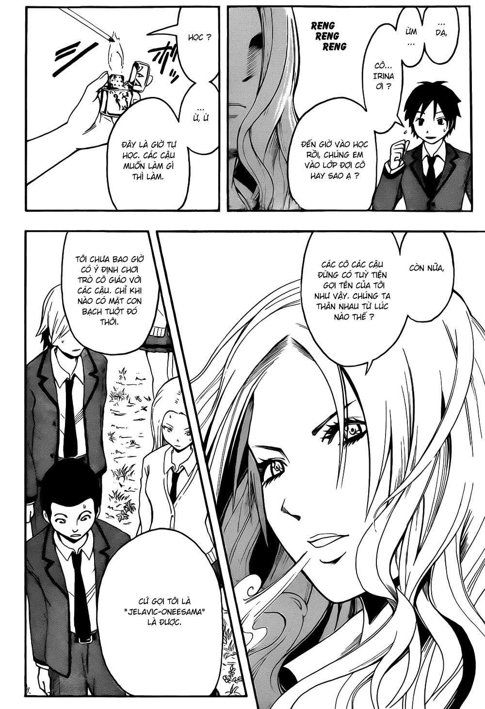 Ansatsu Kyoushitsu chap 8 trang 15