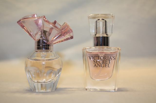 BCBG MaxAzria and Victoria's Secret Angel Perfume Mini's