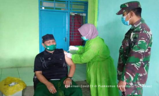 Kecamatan Moga Mulai Vaksinasi Warga Lansia