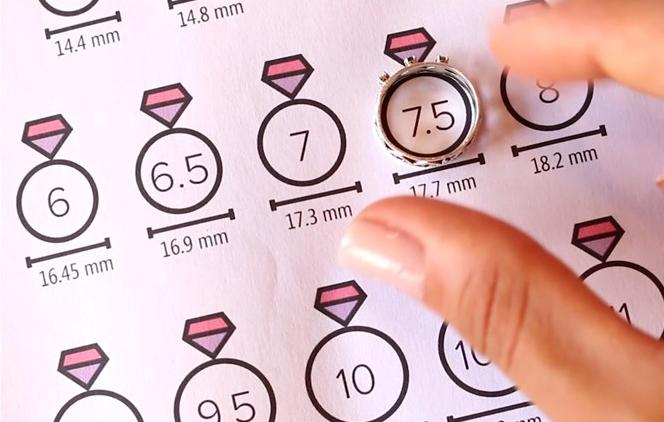 Cara Mudah Ukur Size Cincin Emas Perempuan Guna Pembaris Dan Kertas