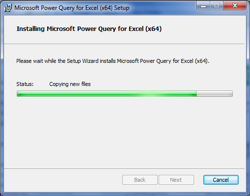 Proses Memasang Add-in Power Query