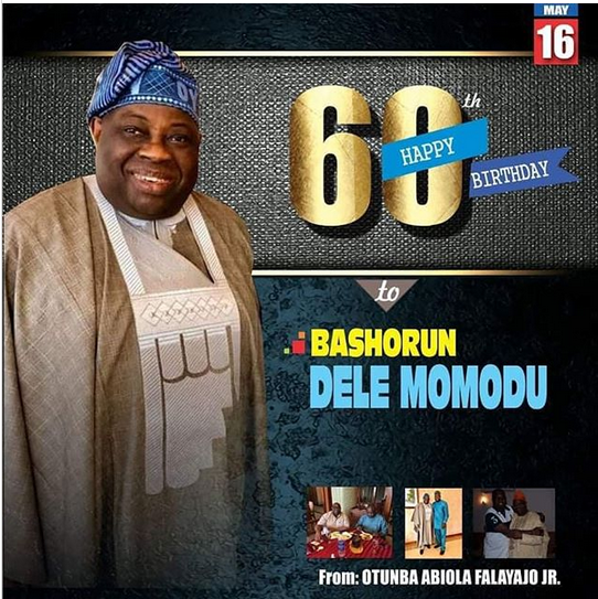 See how Dele Momodu hosted his 60th birthday -Efogator.com