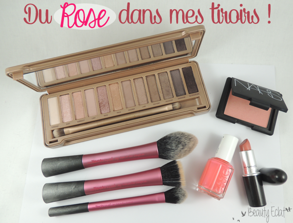 maquillage rose