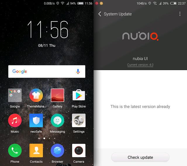 Nubia UI 4.0 SS-1