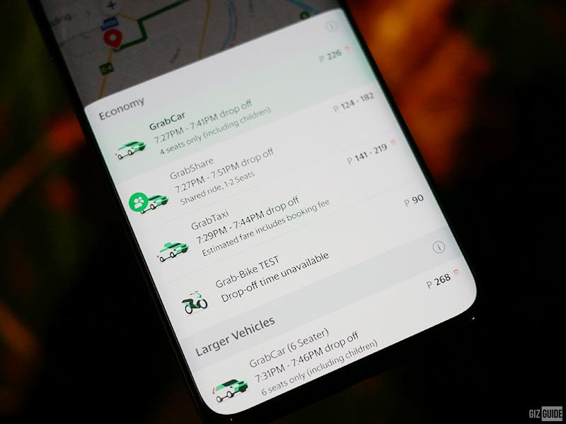 It's back! Grab-Bike service spotted at Grab PH app