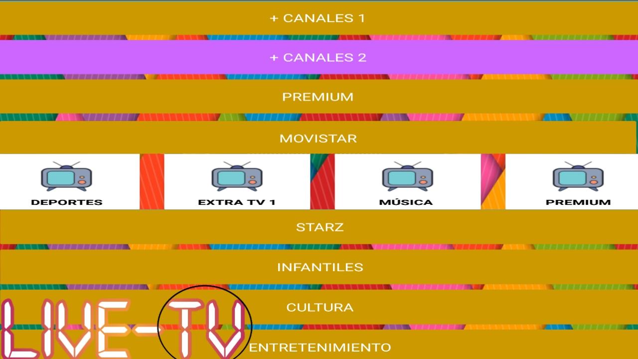 اسطورة لمشاهدة القنوات اللاتينية الممنوعة المشفرة مجانا/Live-Play