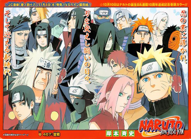 Mangas Naruto Shippuden [Español]