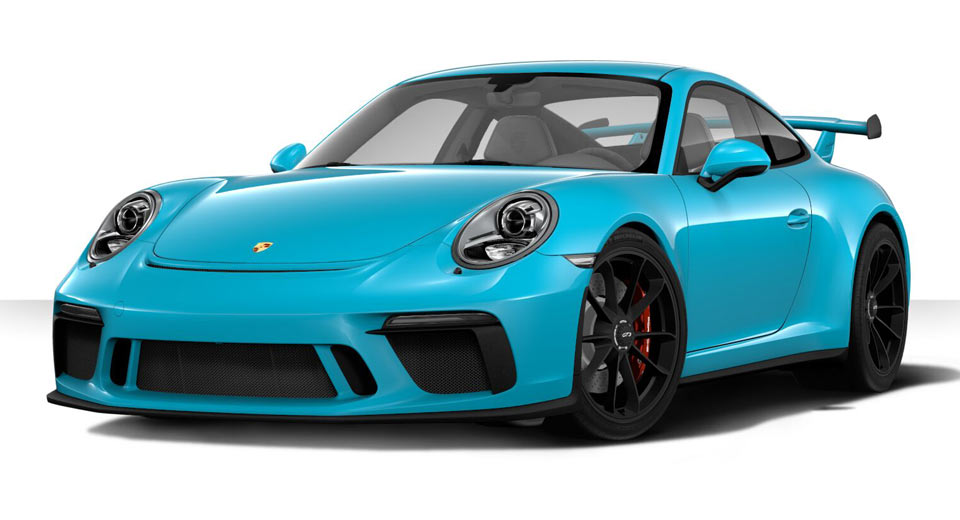 Create Your Dream 2018 Porsche 911 Gt3 With Updated