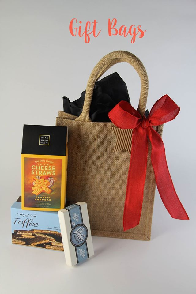 Everyone loves Food. Southern Oak Gift Company has reasonable prices for the foodie wrapped up in adorable packages.