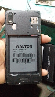 Walton Primo F9 Flash File Fastboot Privacy Lock Without Password