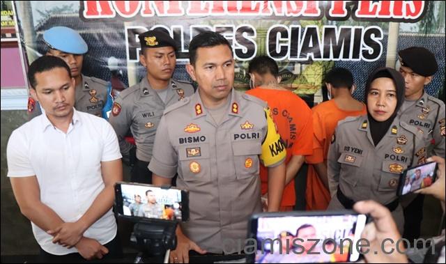 Di Tanggerang, Polisi Ciamis Tangkap Pembunuh Pangandaran