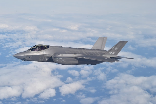 UK AND AUSTRALIA HAVE BEEN SELECTED FOR F-35 GLOBAL MAINTENANCE