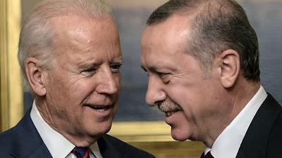 منذ تولية الرئاسة بايدن يهاتف أردوغان