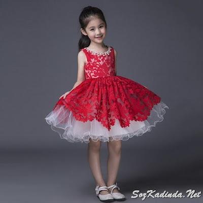 abiye çocuk modelleri