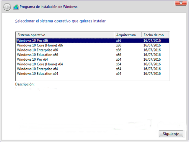Windows 10 aio 1607 espa ol 32 64 bits 2016 for Arquitectura 32 o 64 bits