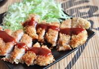 tonkatsu de porco