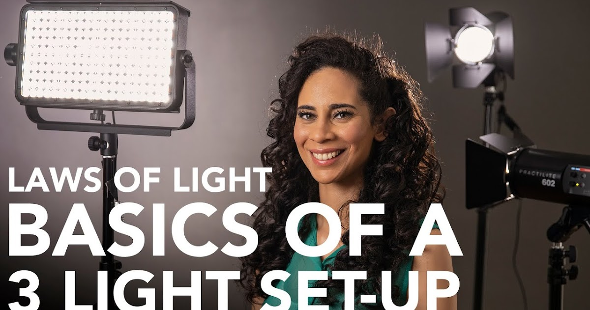 How To Use LED Lights For Portraits In Still Photography And Video