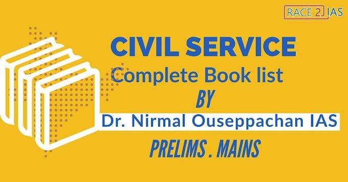 UPSC Books - Best IAS Books For UPSC Civil Services Exam 2020 | Dr Nirmal Ouseppachan IAS | Prelims | Mains