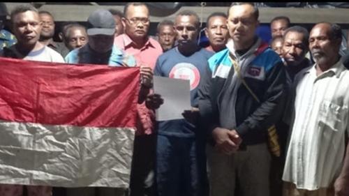 Kembali Ke NKRI, Pentolan OPM Papua Alex Hamberi Akui Telah Salah Langkah