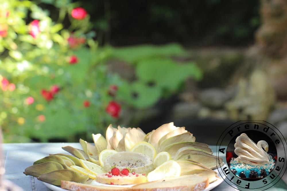 Salade raffinée de Paul Bocuse aux artichauts et foie gras