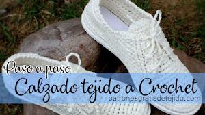 Zapatos Tejidos a Crochet / Paso a paso