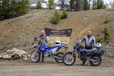 Riding to Marshall Pass with Bob W.