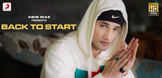 Back To Start Lyrics in English – Asim Riaz