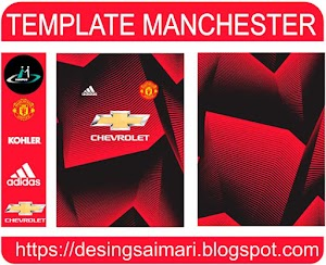 Manchester United 2021-2022 (Vector free)
