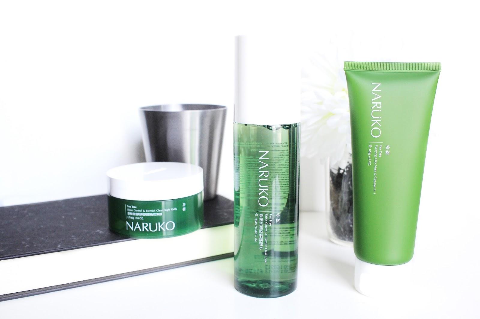 Asian Skincare   Naruko Canada Tea Tree Series